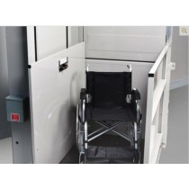 Residential vertical wheelchair platform lift Vista 613 Atlas