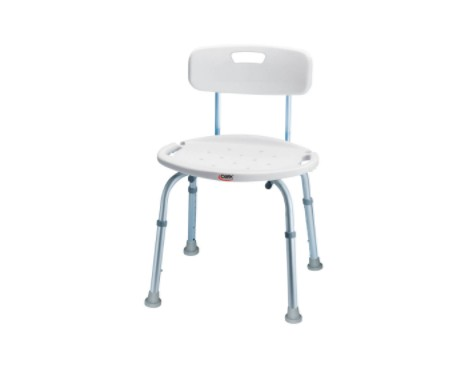Carex Classics Bath & Shower Seat with Back