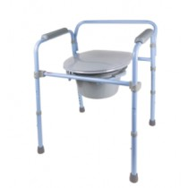 Carex Deluxe Folding Commode