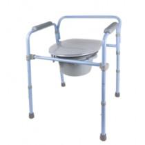 Chaise d'aisance pliable Deluxe Carex