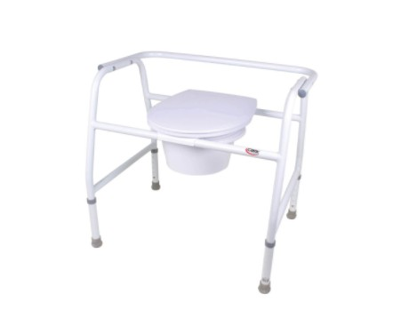 Carex Extra-Wide Steel Commode