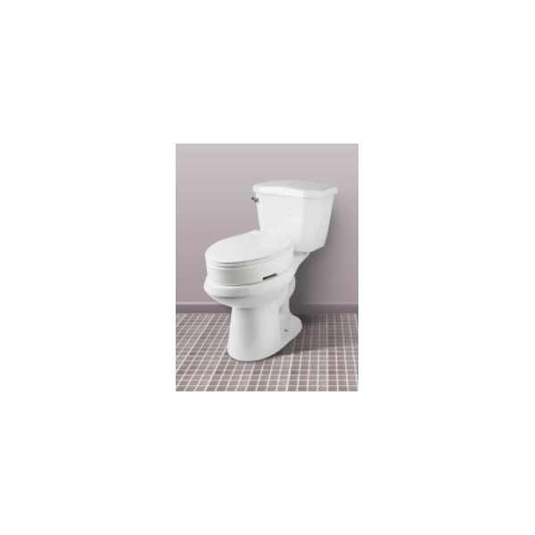 Awesome Carex Standard Hinged Toilet Seat Riser La Maison Andre Viger Theyellowbook Wood Chair Design Ideas Theyellowbookinfo
