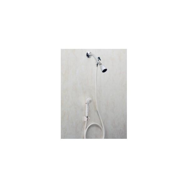 douche main avec vanne de d rivation carex la maison andr viger. Black Bedroom Furniture Sets. Home Design Ideas