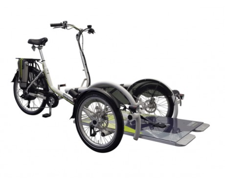 Vélo de transport de fauteuil roulant Van Raam VeloPlus