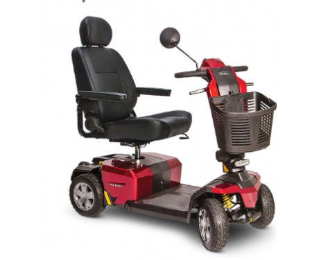 4 wheel mobility scooter Victory 10LX CTS Suspension