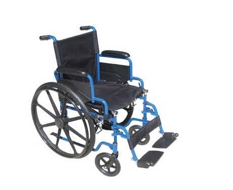 Fauteuil Blue Streak - Essieu Simple