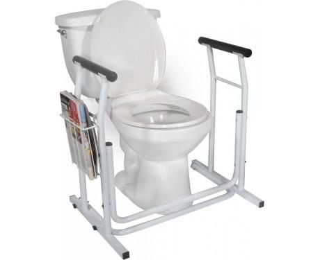 Support de toilette ajustable