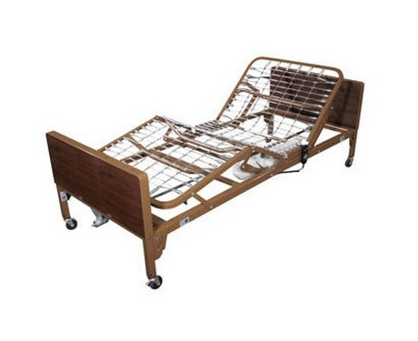 lit lectrique d 39 h pital la maison andr viger. Black Bedroom Furniture Sets. Home Design Ideas