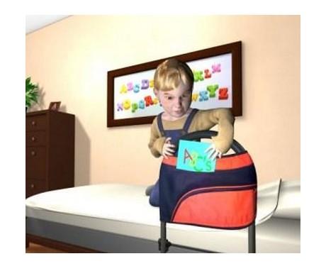 Barrière de lit portable pour enfants 5050