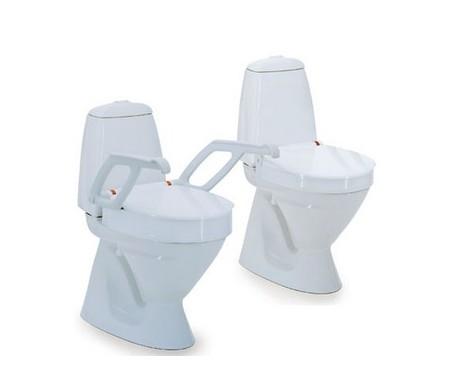 """Siège de toilette surélevé Invacare 4"""""""