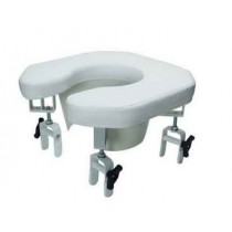 Lumex Open Padded Raised Toilet Seats