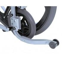 Roulettes arrières anti-bascule