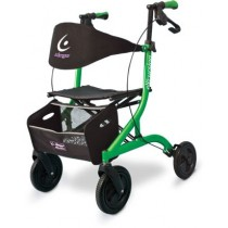 Airgo® eXcursion™ Lightweight Side-fold Rollator - Lime