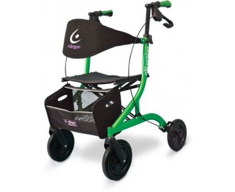 Marchette - Déambulateur léger à pliage latéral Airgo® eXcursion™ - Lime