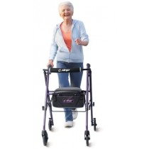 Airgo Ultra-Light 6 Rollator - Eggplant