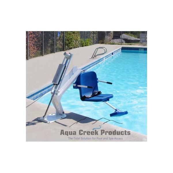 L vateur pour piscine ranger for Leve personne piscine
