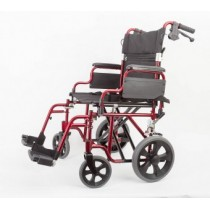 Aluminium transport chair