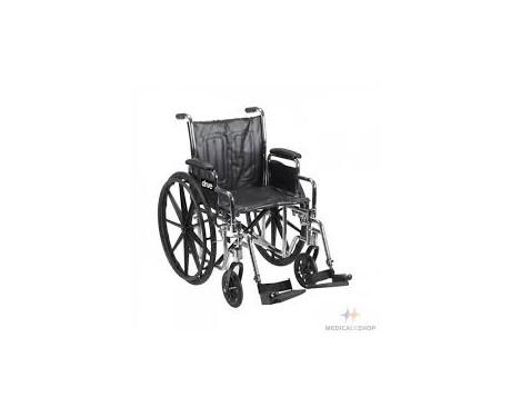 Fauteuil roulant sport (chrome)