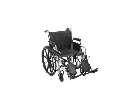 Fauteuil roulant sport (chrome) 20''