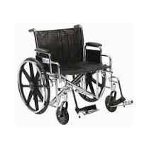 Fauteuil roulant Chrome sport -Double essieu