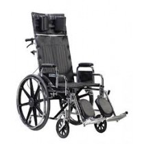 Deluxe Sentra Full-Reclining Wheelchair