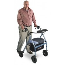 Airgo Comfort-Plus XWD Lightweight Rollator - Iridescent Blue