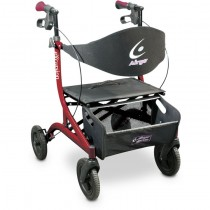Airgo® eXcursion™ Hemi Height Lightweight Side-fold Rollator
