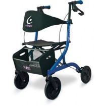 Airgo® eXcursion™ Lightweight Side-fold Rollator - Pacific Blue