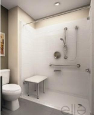 Materiel pour salle de bain handicapé
